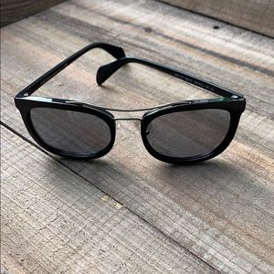 Prada SPR17Q Sunglasses Black